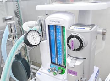 処置室用吸入麻酔器